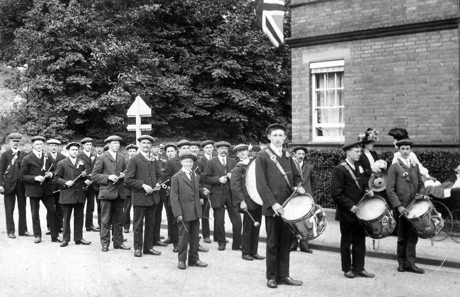 Civilian Band on Parade