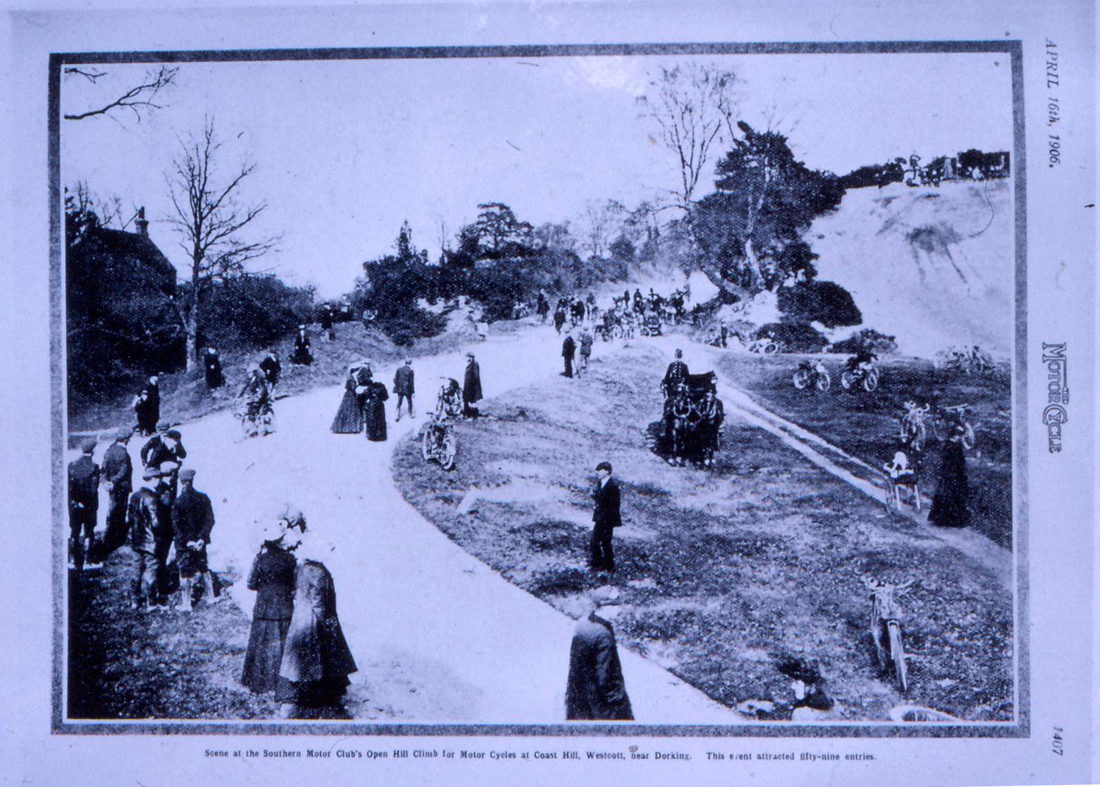 Southern Motor Club Open Hill Climb at Coast Hill 1906