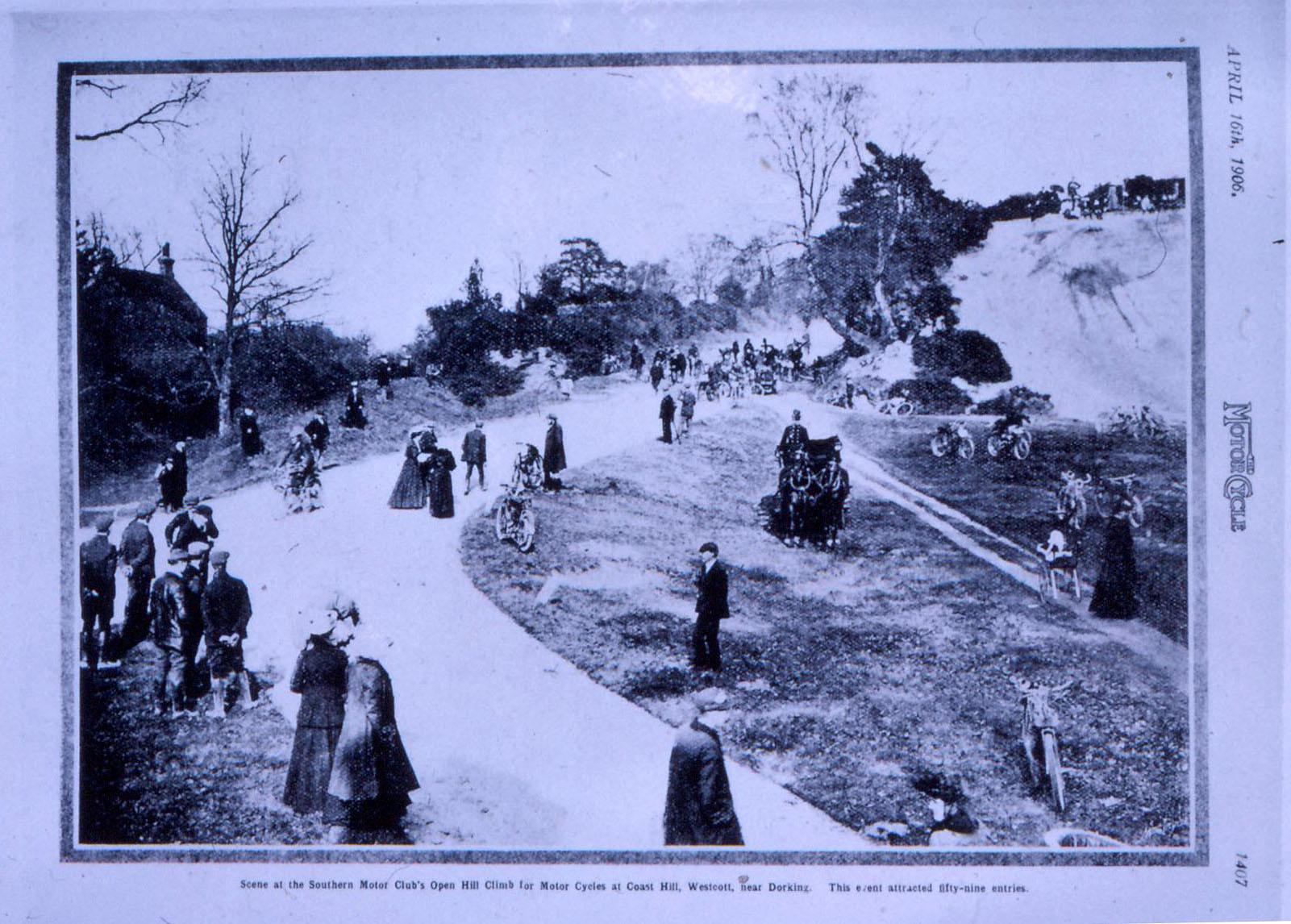 Southern Motor Club Open Hill Climb at Coast Hill 1906