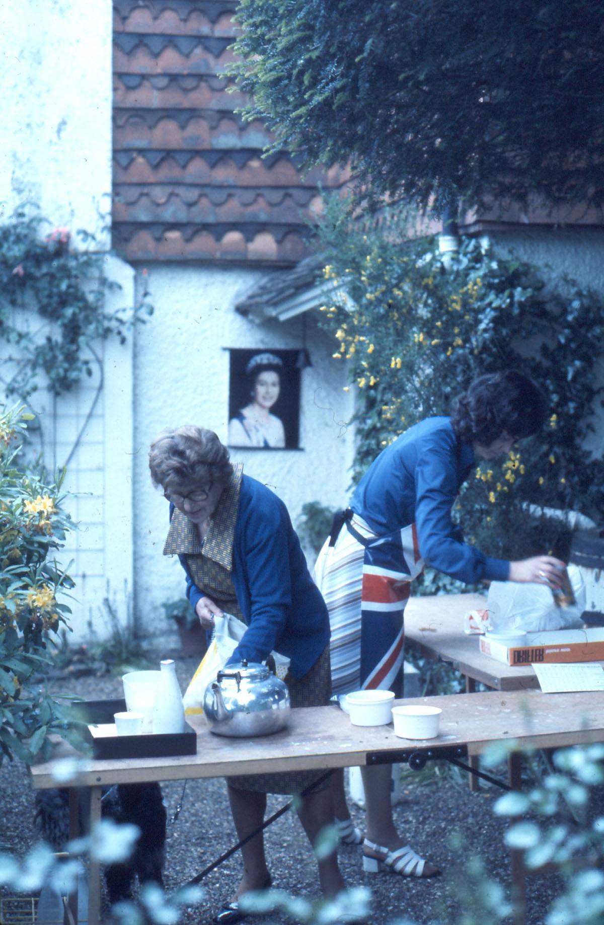 Ladies and tea ? Silver Jubilee