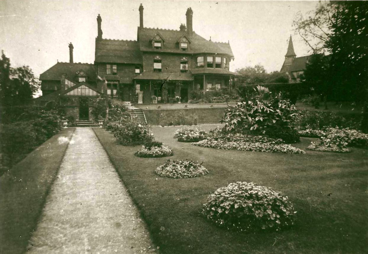 Brookland house and garden