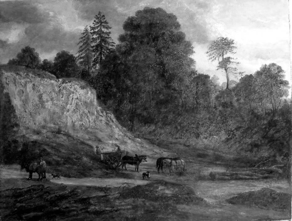 Sandrock Painting (Greyscale) (Image 3)