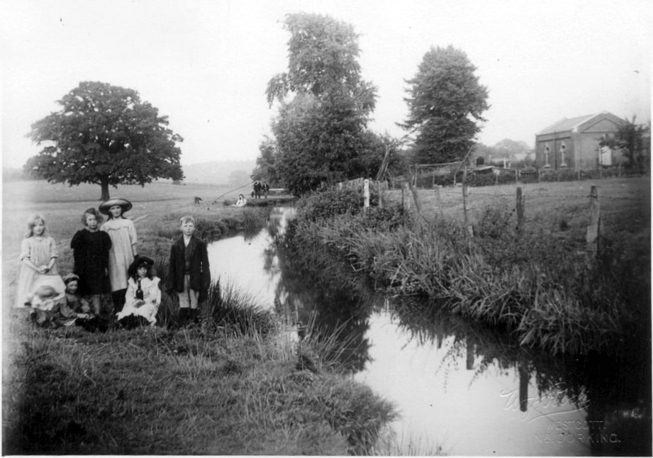 Pipp Brook and The Pumping Station